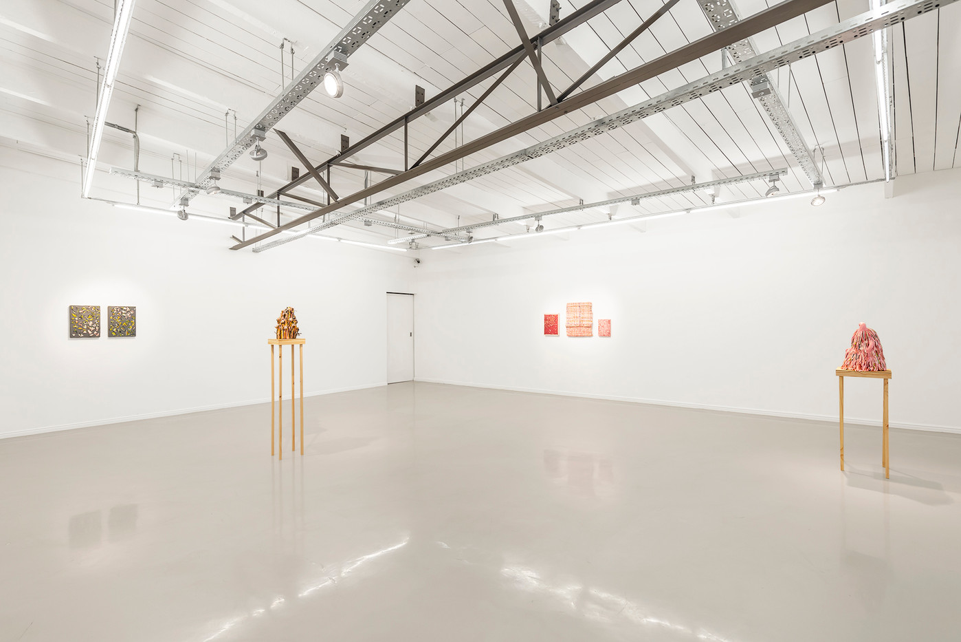 Gabrielle Kruger | For Paint to Dry | 2019 | Installation View