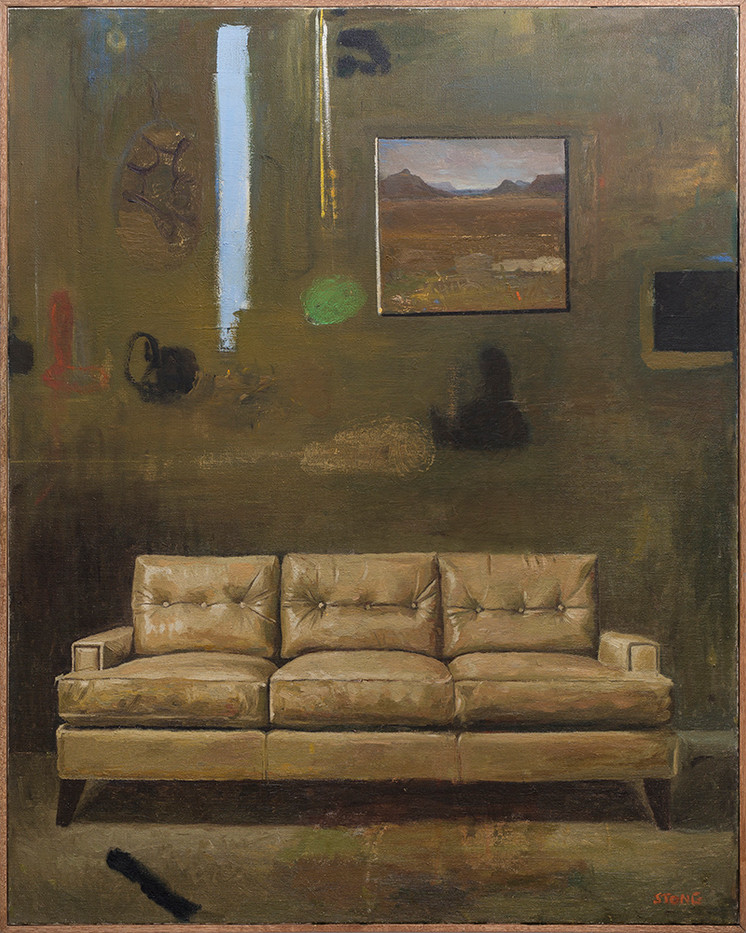 Simon Stone | The Couch | 2018 | Oil on Canvas | 116 x 93 cm
