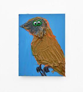 Georgina Gratrix | Oopsy Bird | 2018 | Oil on Canvas | 40 x 30 cm