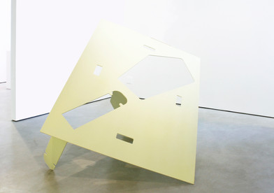 Helen A. Pritchard   Untitled - Carrier 30   2013   Steel and Enamel Paint   154 x 204 x 148 cm