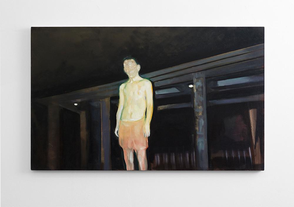 Kate Gottgens | Incandescent | 2016 | Oil on Canvas | 80 x 130 cm