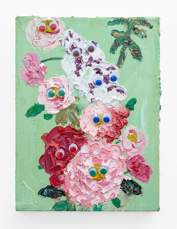 Georgina Gratrix | A Family Affair | 2018 | Oil on Canvas | 40 x 30 cm