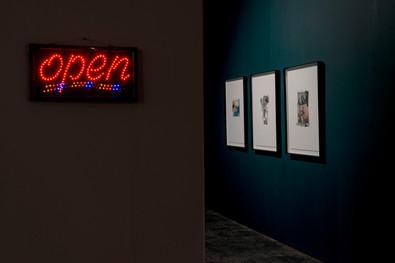 Kate Gottgens | Skyglow on Mars Black | 2020 | Installation View