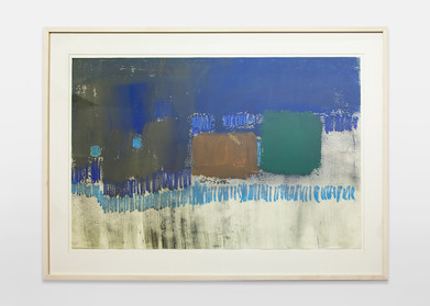 Charles Gassner   Untitled   n.d.   Mixed Media on Paper   65.5 x 97.5 cm
