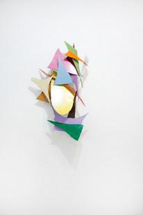 Barend de Wet | Object made to look like art II | 2012 | Enamel Paint on Steel | 110 x 69 x 23 cm