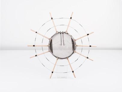 Cyrus Kabiru | Cathedral | 2018 | Mixed Media | 38 x 38 x 8 cm