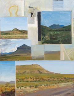 Simon Stone   Murraysburg   2014   Oil on Board   100 x 78 cm