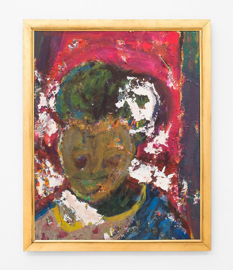 Mostaff Muchawaya | Untitled | 2017 | Acrylic on Canvas | 81 x 65 cm