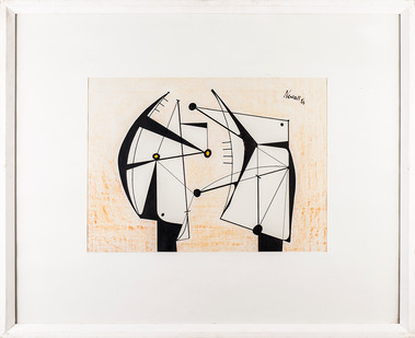 Albert Newall | Untitled | 1953 | Ink on Paper | 55 x 67 cm