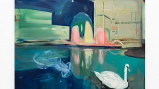 Kate Gottgens_Neon Lake_2020_Oil on Canv