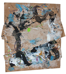 Bill Ainslie | (Untitled) | n.d. | Mixed Media on Paper | 71 x 68 cm