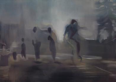 Kate Gottgens | Baggy Creeps | 2015 | Oil on Canvas | 85 x 120 cm