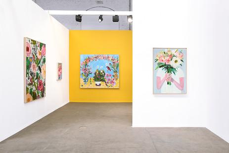 Georgina Gratrix | Art Brussels | 2018 | Installation View