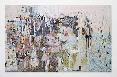 Asha Zero | 8aaea7df4ab03d83 | 2017 | Acrylic on Board | 204 x 326 cm