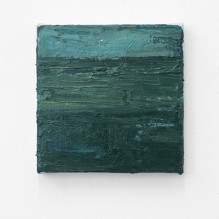 Jake Aikman | Moonrise | 2017 | Oil on Canvas | 15 x 15 cm