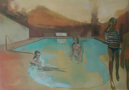 Kate Gottgens | The Gloaming | 2013 | Oil on Canvas | 85 x 120 cm