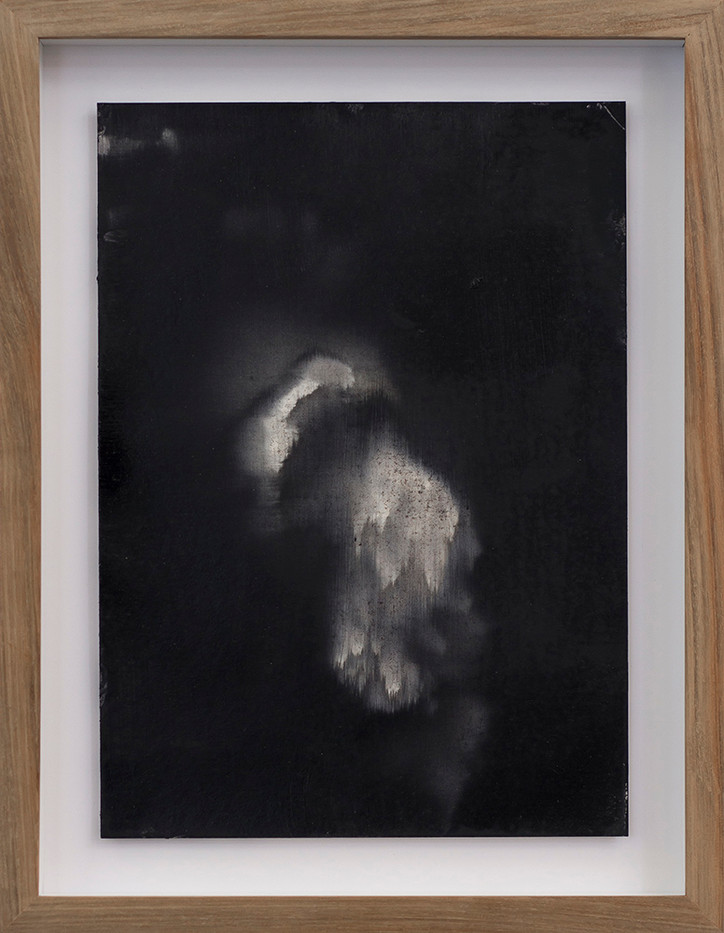 Alexandra Karakashian | Undying (Study) I | 2017 | Oil on Sized Paper | 31.5 x 22.5 cm