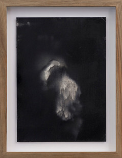 Alexandra Karakashian   Undying (Study) I   2017   Oil on Sized Paper   31.5 x 22.5 cm