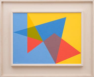 Albert Newall | Untitled | 1958 | Oil on Board | 60 x 45 cm