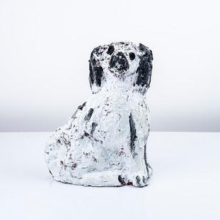 Georgina Gratrix | Staffordshire Study V | 2018 | Oil on Ceramic | 32 x 20 x 11 cm