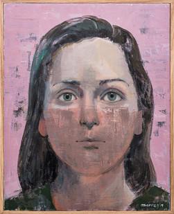 John Murray | Untitled | 2019 | Acrylic on Canvas | 50 x 40 cm