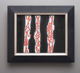 Walter Battiss | Creepy Crawlies | n.d. | Oil on Canvas | 41 x 51 cm