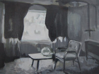 Kate Gottgens | Petty Crime V | 2012 | Oil on Canvas | 30.5 x 40.5 cm
