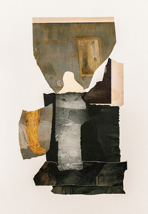 Kate Gottgens   Ghost   2020   Collage on Paper   76 x 57 cm