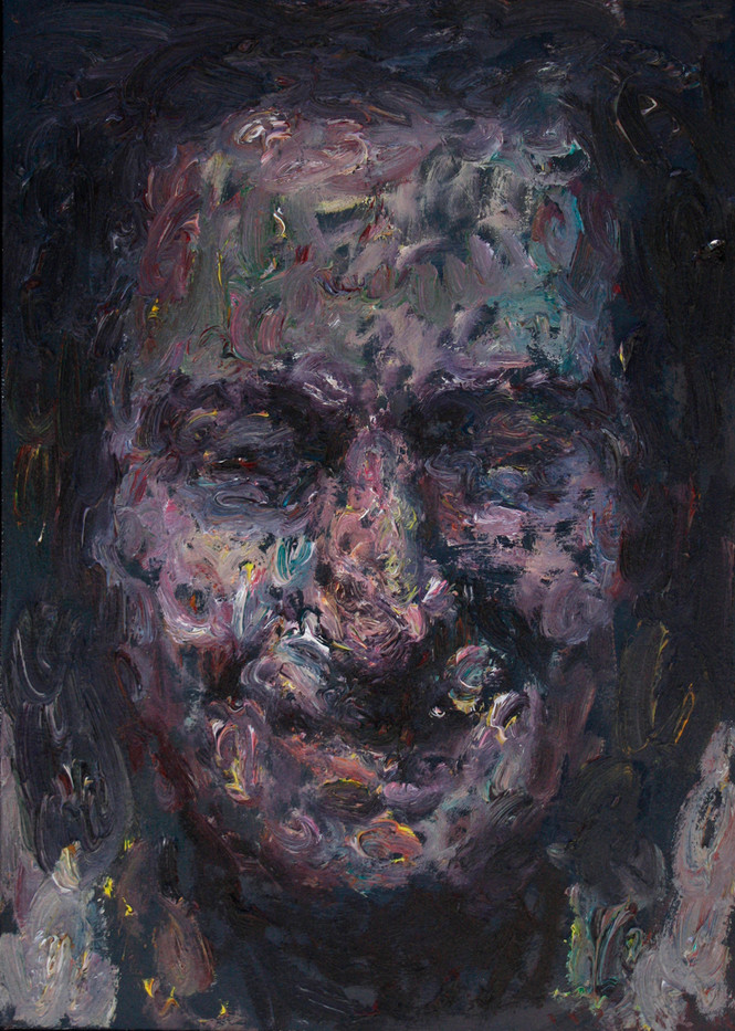 Anton Karstel   Fig .112   2012   Oil on Canvas   48 x 33 cm