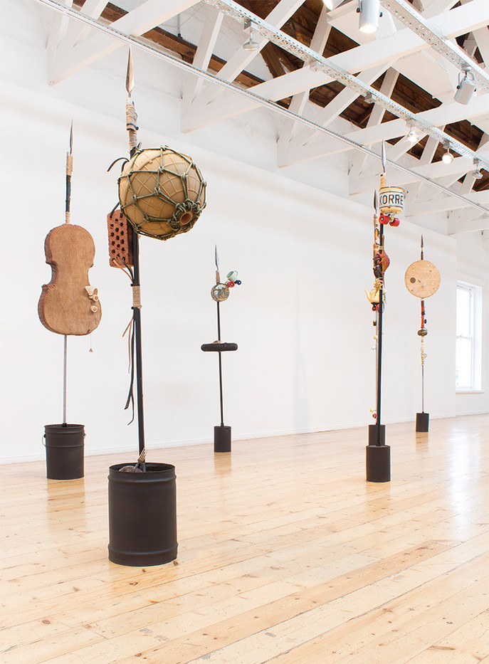 Masimba Hwati | Instruments of Memory / Simbi dzeNdangariro | 2016 | Installation View