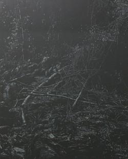 Peter Eastman   Coldstream VI   2017   Oil on Aluminium   185 x 150 cm