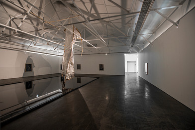 Alexandra Karakashian   here they passed   2018   Installation View
