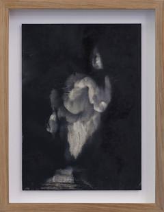 Alexandra Karakashian   Undying (Study) II   2017   Oil on Sized Paper   31.5 x 22.5 cm