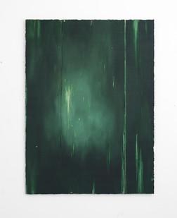 Jake Aikman | Spectral Presence | 2017 | Oil on Board | 165 x 122 cm