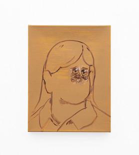 Callan Grecia | MICROSCOPIC | 2021 | Acrylic on Canvas | 46 x 35.5 cm