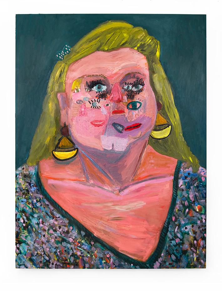 Georgina Gratrix | Mother | 2020 | Oil on Canvas | 200 x 150 cm