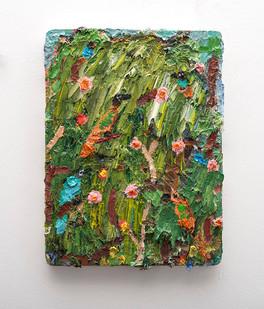 Georgina Gratrix | Spring Collection | 2016 | Oil on Board | 40 x 30 cm