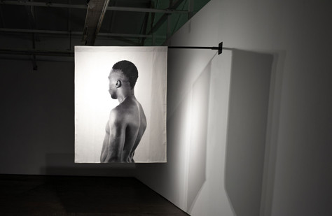 Musa N. Nxumalo | Story of OJ, After 4-44 (Doctor Moyo I) | 2020 | Archival Pigment Print on Hemp Linen | 160 x 130 cm | Edition of 3 + 2 AP