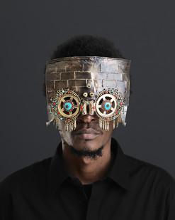 Cyrus Kabiru | Mali Ya Mfalme, Macho Nne: Morocco Ngome (Morocco Castle) | 2016 | Pigment Ink on HP Premium Satin Photographic Paper | 150 x 120 cm | Edition of 5 + 2 AP