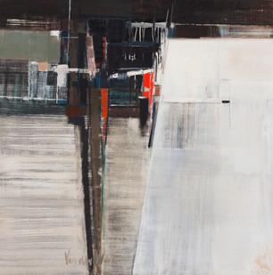 Hannatjie van der Wat | Night and Day | 1966 | Oil on Canvas | 91.5 x 91 cm