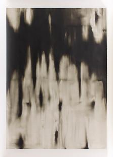 Alexandra Karakashian | Shifting Ground (Sketch III) | 2016 | Oil on Paper | 140 x 99.5 cm