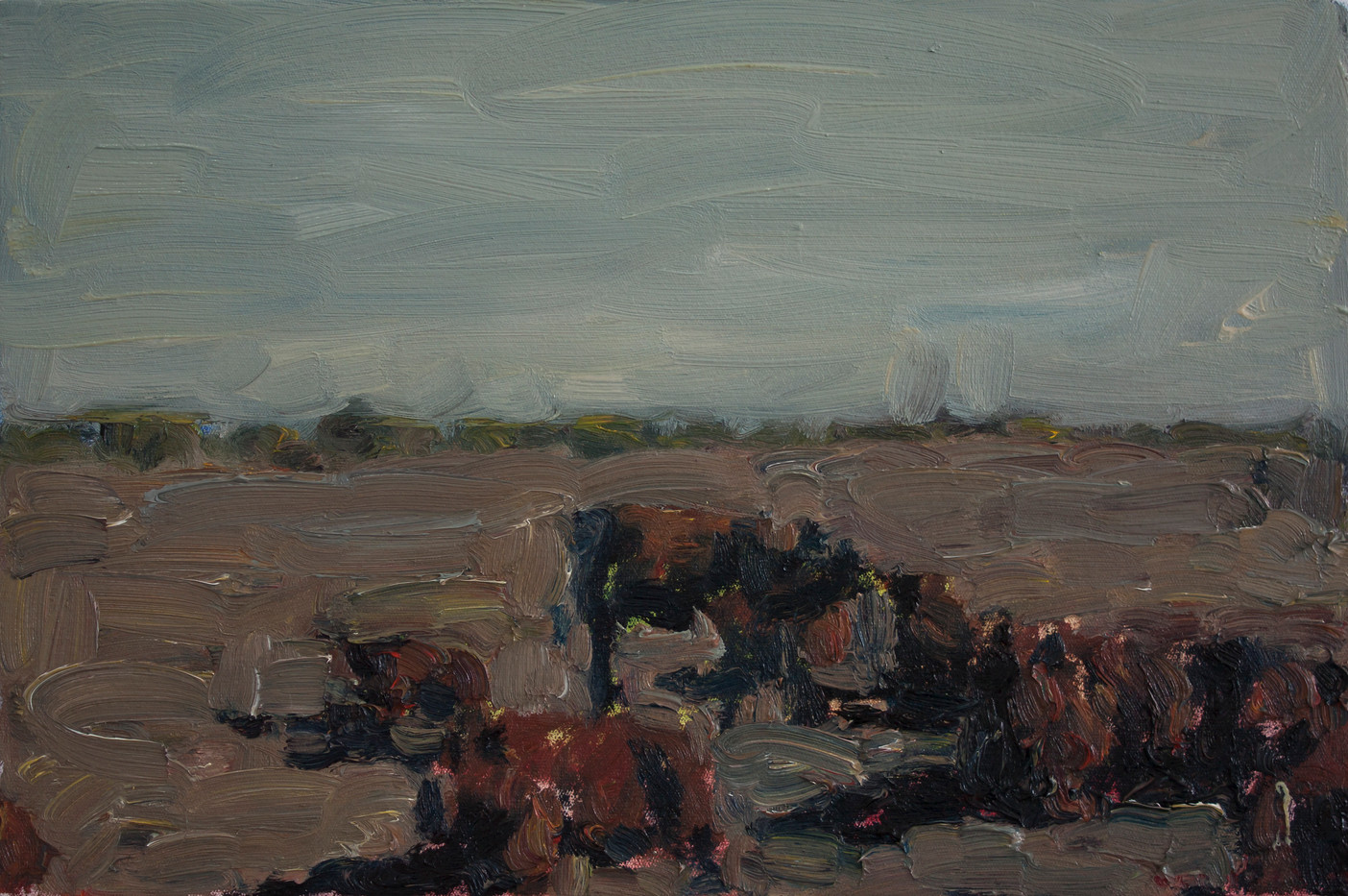 Anton Karstel | Property (Kuruman) | 2014 | Oil on Canvas | 30 x 45 cm