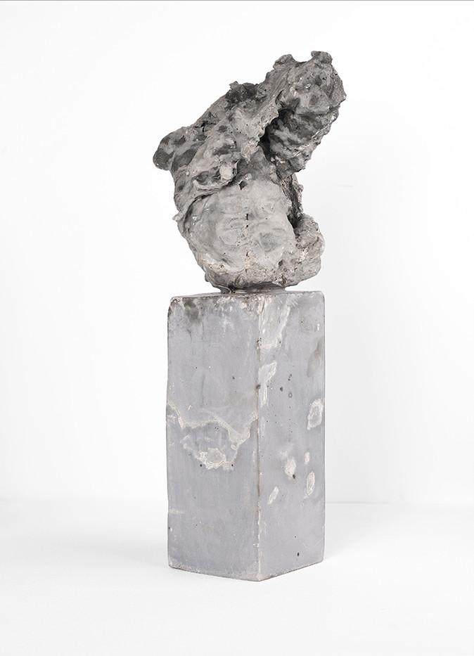 Ruann Coleman   Study X (Void)   2017   Cement   46 x 11 x 11 cm