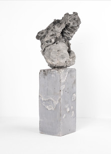 Ruann Coleman | Study X (Void) | 2017 | Cement | 46 x 11 x 11 cm