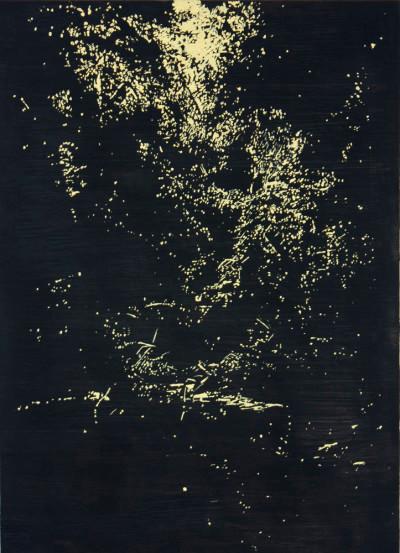 Peter Eastman | Deep Chine XX | 2014 | Oil on Aluminium | 41 x 29.5 cm