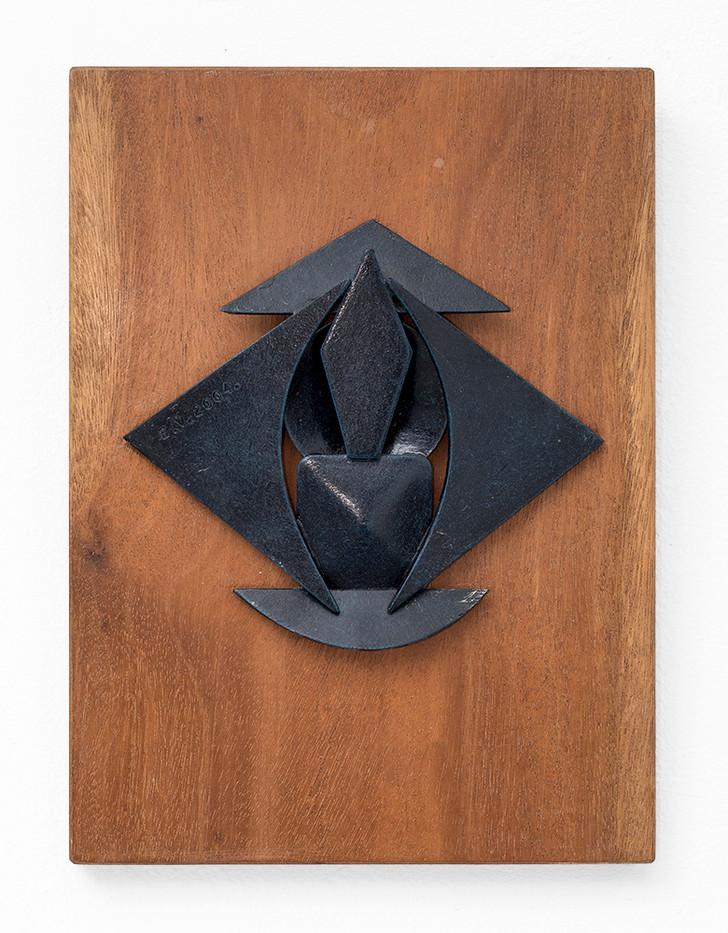 Edoardo Villa | Untitled | 2004 | Steel | 16 x 18 cm