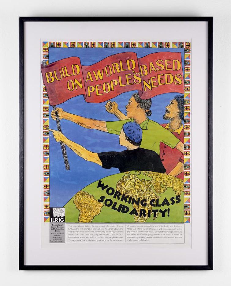 Lionel Davis I LRIG Working Class Solidarity | c.2000 | Poster | 59 x 42 cm