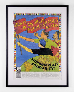 Lionel Davis I LRIG Working Class Solidarity | c.2000 | Poster | 59 x 42 cm
