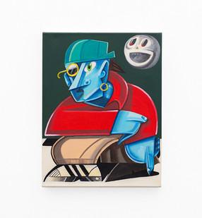 Callan Grecia | KALI | 2021 | Acrylic on Canvas | 46 x 35.5 cm