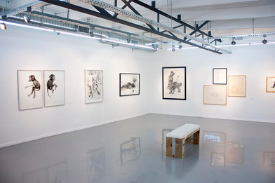 PAPERWORK: An Exhibition of Contemporary South African Works on Paper   2014   Installation View